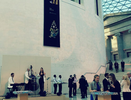 Dolce Vita Live at British Museum Sicily Exhibition